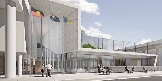 Photo of ACT Law Courts Canberra project