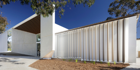 Photo of College of Law ANU Canberra project