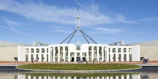 Photo of Parliament House Canberra project